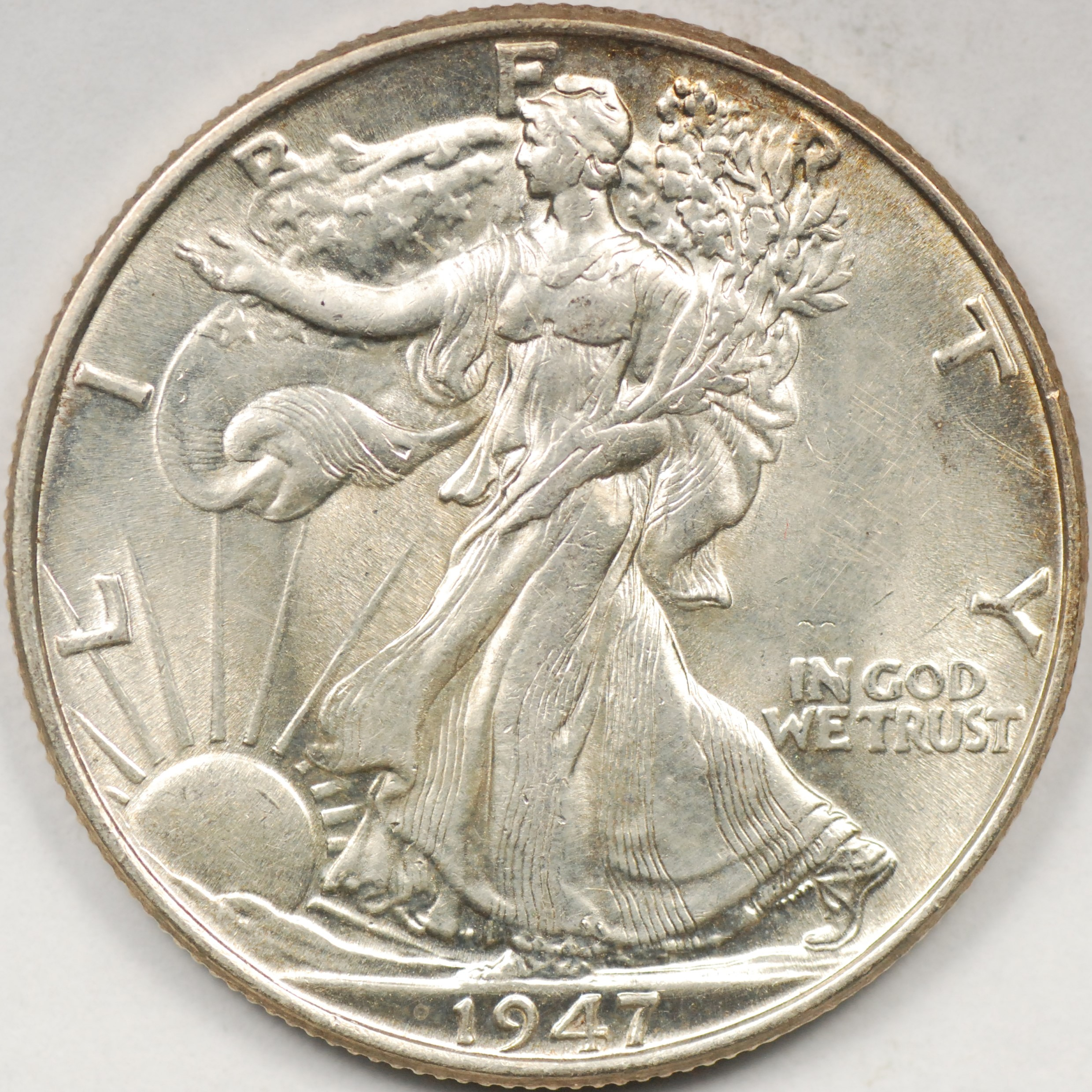1947 walking liberty coin value